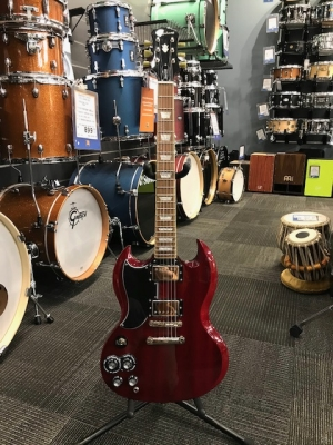 Epiphone SG Standard Pro in Cherry - Left-Handed